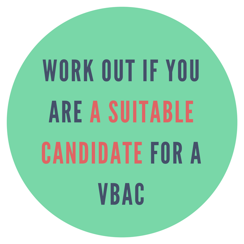 Are you a suitable candidate for a VBAC?