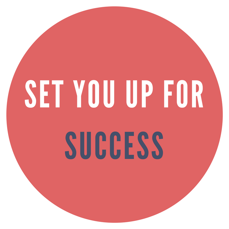Set you up for Success